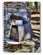 Old School Smoker Spiral Notebook
