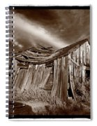 Old Shack Bodie Ghost Town Spiral Notebook