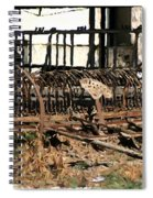 Old Sharecropper Spiral Notebook