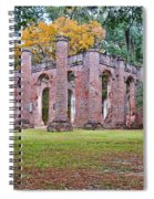 Old Sheldon Chruch Spiral Notebook