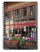 Old Shop Hamburg Spiral Notebook
