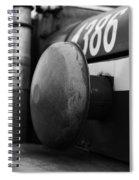Old Siren Bw Spiral Notebook