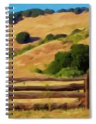 Old Split Rail Fence Spiral Notebook