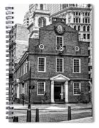 Old State House In Boston Spiral Notebook