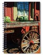 Old Station Cart Spiral Notebook