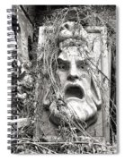 Old Statues In Skopje Spiral Notebook