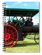 Old Steam Engine Spiral Notebook