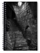 Old Steps In Chester England Spiral Notebook
