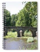 Old Stone Arch Bridge Spiral Notebook