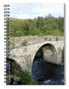 Old Stone Bridge In Scotland Spiral Notebook