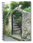 Old Stone Gate Spiral Notebook