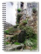 Old Stone Steps Spiral Notebook