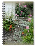 Old Stone Wall Spiral Notebook