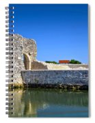 Old Stone Walls Of Nin Town Spiral Notebook