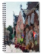 Old Street Cafe Spiral Notebook