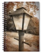 Old Street Lamp Spiral Notebook