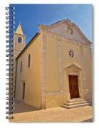 Old Streets Of Novalja Town Spiral Notebook