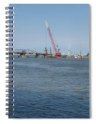 Old Swing Bridge Chincoteague Spiral Notebook