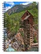 Old Time Colorado Spiral Notebook