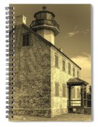Old Time East Point Light Spiral Notebook