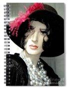 Old Time Elegance Spiral Notebook