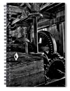 Old Time Gears Spiral Notebook