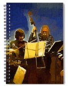 Old Time Music Spiral Notebook