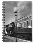 Old Time Steam Spiral Notebook