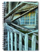 Old Time Wheels Spiral Notebook