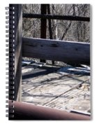 Old Timey Foot Bridge Spiral Notebook
