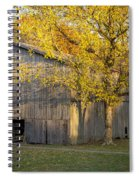 Old Tobacco Barn Spiral Notebook