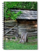 Old Tool Shed Spiral Notebook