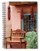 Old Town Albuquerque Shop Window Spiral Notebook