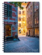 Old Town Alley Spiral Notebook