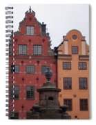 Old Town Architecture Spiral Notebook