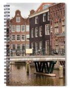 Old Town In Amsterdam Spiral Notebook