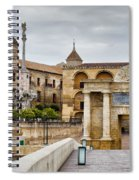 Old Town Of Cordoba In Spain Spiral Notebook