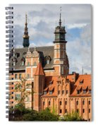 Old Town Of Gdansk In Poland Spiral Notebook