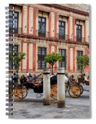 Old Town Of Seville In Spain Spiral Notebook