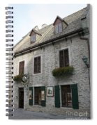 Old Town Quebec Canada Spiral Notebook