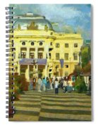 Old Town Square Spiral Notebook