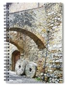 Old Towns Of Tuscany San Gimignano Italy Spiral Notebook