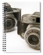 Old Toy Cameras Spiral Notebook