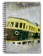 Old Toy-train Spiral Notebook