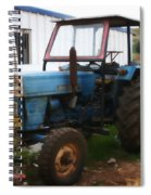 Old Tractor I Spiral Notebook