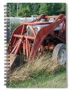 Old Tractor Spiral Notebook