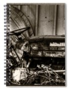 Old Tractor - Series Xv Spiral Notebook