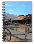 Old Trail Town   Spiral Notebook