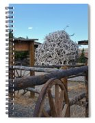 Old Trail Town -  Wyoming Spiral Notebook