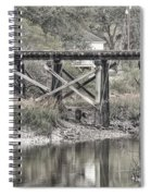 Old Train Trestle Spiral Notebook
